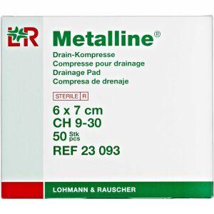 Køb Metalline Drænkompres 6 x 7 cm 50 stk. online hos apotekeren.dk