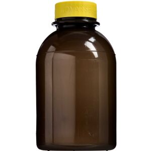 Køb Kanylebeholder rund 2,5 liter med gult låg 1 stk. online hos apotekeren.dk
