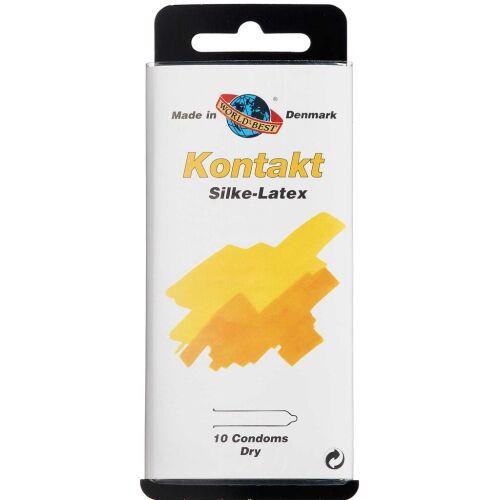 Køb Worlds-Best Kontakt Silke-Latex kondom 10 stk. online hos apotekeren.dk