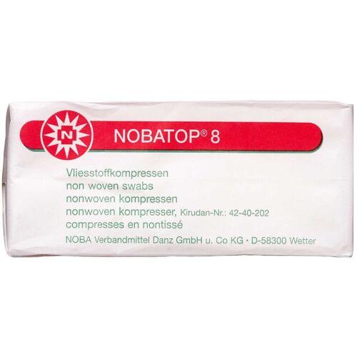 Køb NOBATOP 8 Kompres usteril 5 x 5 cm 100 stk. online hos apotekeren.dk