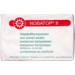 Køb NOBATOP 8 Kompres usteril 7,5 x 7,5 cm 100 stk. online hos apotekeren.dk