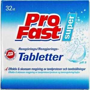 Køb ProFast Rengøringstabletter 32 stk. online hos apotekeren.dk
