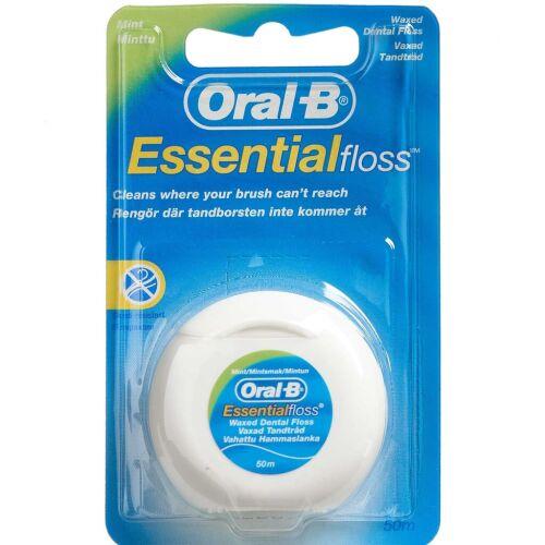 Køb Oral-B Tandtråd Essential floss 50 m online hos apotekeren.dk