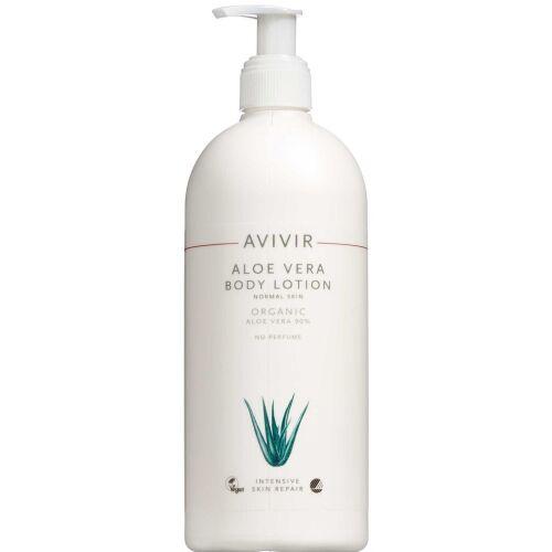 Køb AVIVIR Aloe Vera Body Lotion 90% 500 ml online hos apotekeren.dk