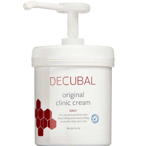 Køb Decubal Original Clinic Creme m. pumpe 1 kg online hos apotekeren.dk