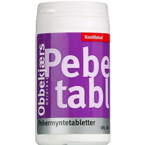 Køb Obbekjær's Pebermyntetabletter 185 stk. online hos apotekeren.dk