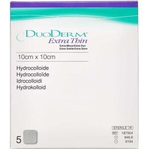 Køb Duoderm Extra Tynd 10 x 10 cm 5 stk. online hos apotekeren.dk