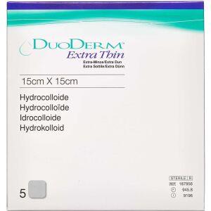 Køb Duoderm Extra Tynd 15 x 15 cm 5 stk. online hos apotekeren.dk