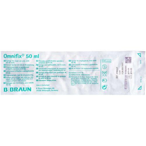 Køb Sprøjte Omnifix Luer 50 ml 1 stk. online hos apotekeren.dk