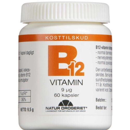 Køb B12 Vitamin tabletter 60 stk. online hos apotekeren.dk