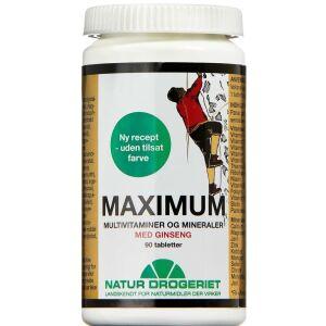 Køb Maximum vitamin- og mineraltilskud 90 stk. online hos apotekeren.dk