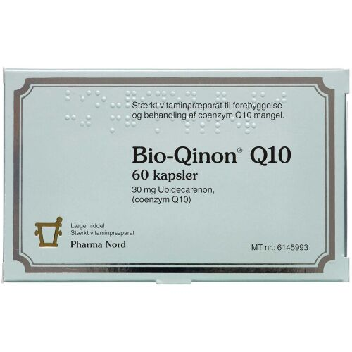 Køb Bio-Qinon Q10 Kapsler, 30 mg 60 stk. online hos apotekeren.dk