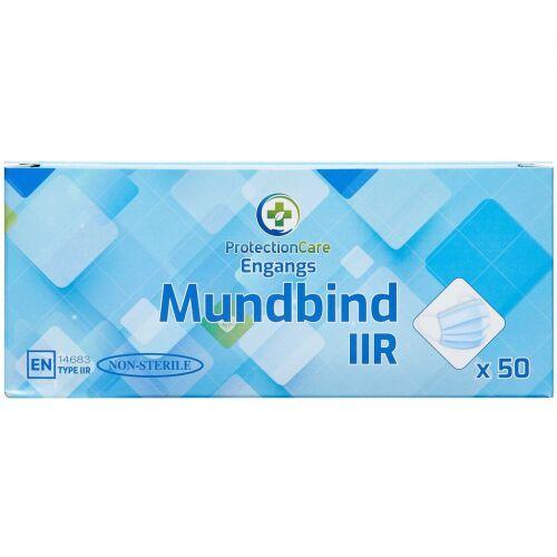 Køb Mundbind Type IIR 50 stk. online hos apotekeren.dk