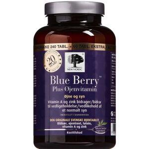 Køb Blue Berry Plus Øjenvitamin 240 + 60 stk. online hos apotekeren.dk