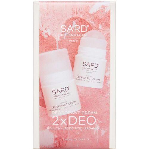Køb SARD kopenhagen Deo White Musk Sampak 50 ml + 50 ml online hos apotekeren.dk