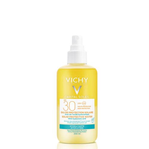 Køb Vichy Ideal Soleil hydrating protective spray SPF30 200 ml online hos apotekeren.dk