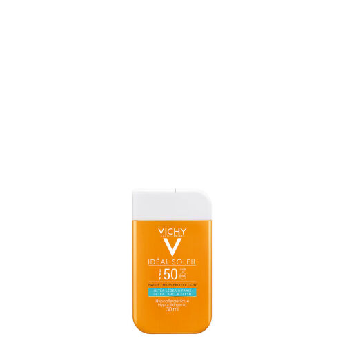 Køb Vichy Idéal Soleil Pocket Size SPF50 30 ml online hos apotekeren.dk