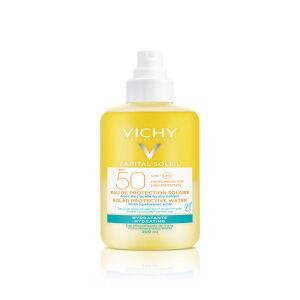 Køb Capital Soleil Enhanced Tan Hydrating Water SPF50 200 ml online hos apotekeren.dk