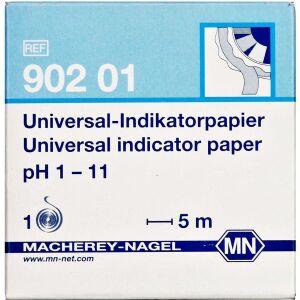 Køb Indikatorpapir pH 1-11 5 m online hos apotekeren.dk