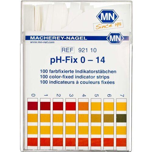 Køb Indikator Sticks pH-Fix 1-14 100 stk. online hos apotekeren.dk
