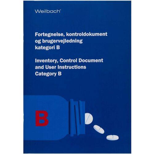 Køb Weilbach skibskiste fortegnelse type B 1 stk. online hos apotekeren.dk