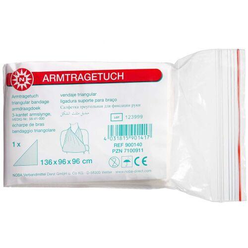 Køb Armklæde 3-kantet Mitella 96 x 96 x 136 cm 1 stk. online hos apotekeren.dk